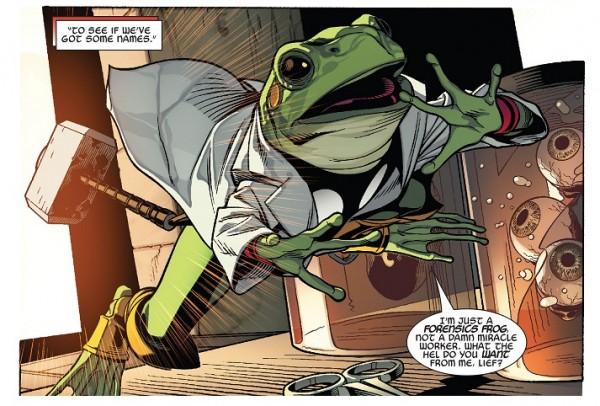 Thors Secret Wars Frog