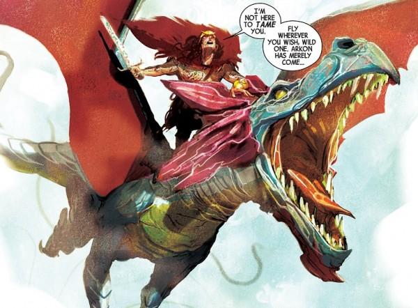 Weirdworld Arkon Dragon