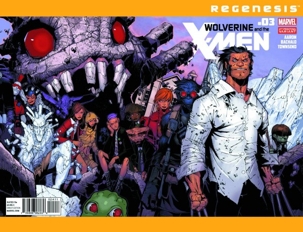 Wolverine X-Men Cover Bachalo