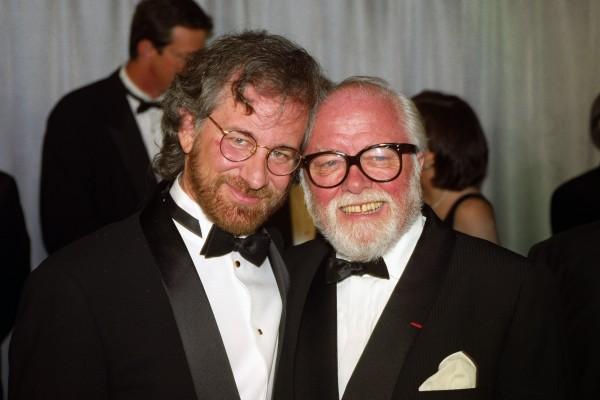 Steven Spielberg-Sir Richard Attenborough