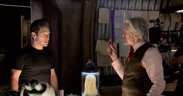 Paul Rudd y Michael Douglas, dos generaciones de Ant-Man