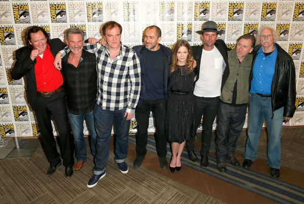 El reparto de The Hateful Eight casi al completo