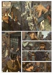 Primeras páginas de Los cuatro de Baker Street por David Etien