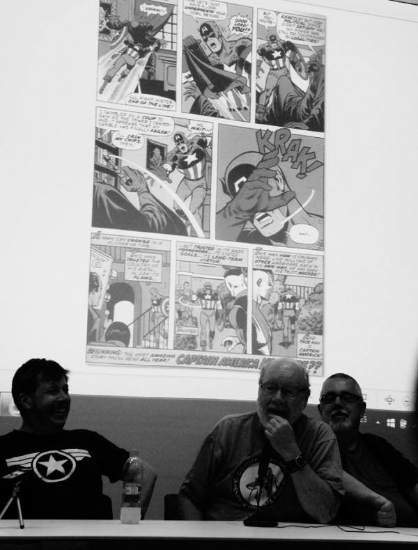 Pacheco, Englehart y Busiek discuten sobre uno de los momentos más importantes para el Capitán América