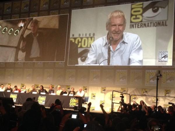 Harrison Ford y una nueva imagen de Han Solo