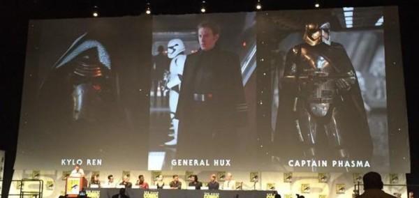 Los villanos de Star Wars: El Despertar dela Fuerza