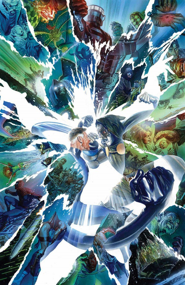 Secret Wars 8 Portada Alex Ross 3