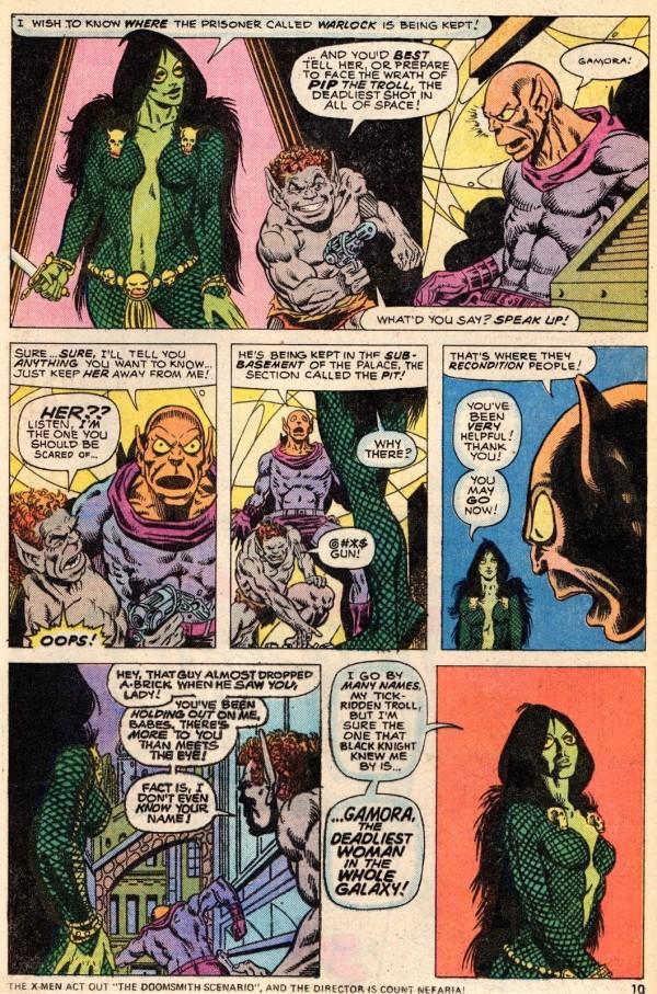 Starlin+Gamora+page