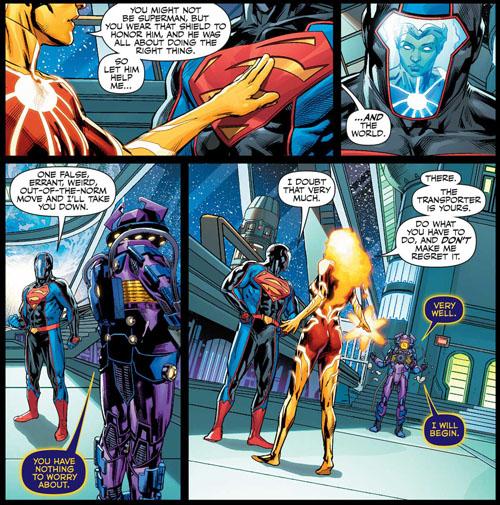 La nueva Firestorm y el fallido Dr. Polaris