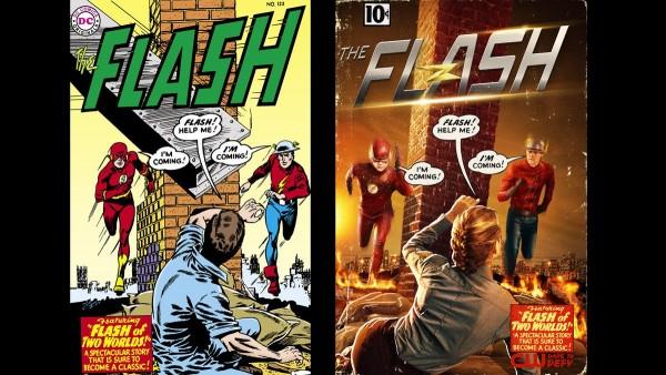 Poster de la segunda temporada de The Flash