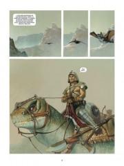Primeras páginas de El Mercenario por Vicente Segrelles