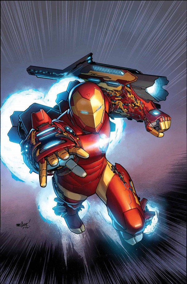 Invencible Iron Man portada 3