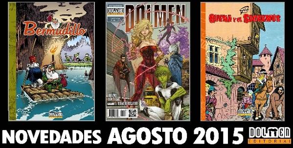 Novedades Agosto Dolmen 2015