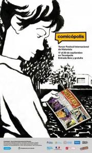 afiche_Jose_Muñoz_Comicopolis_2015