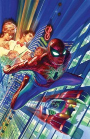 Amazing Spiderman Dan Slott Alex Ross