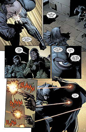 Batman aumenta su eficacia.
