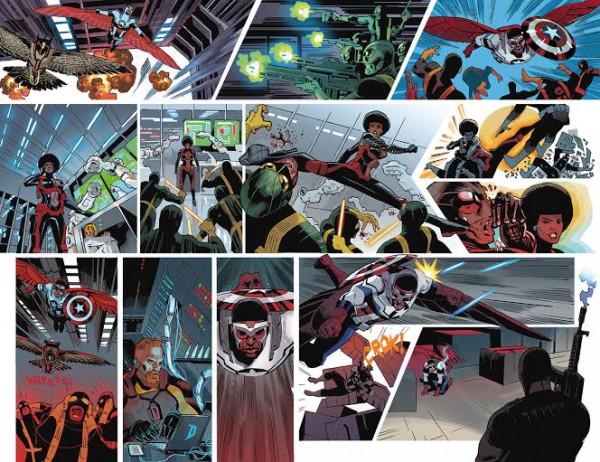 Captain America Sam Wilson Daniel Acuna
