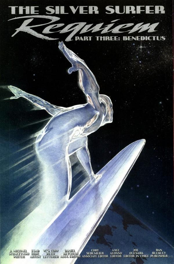 Silver Surfer Ribic