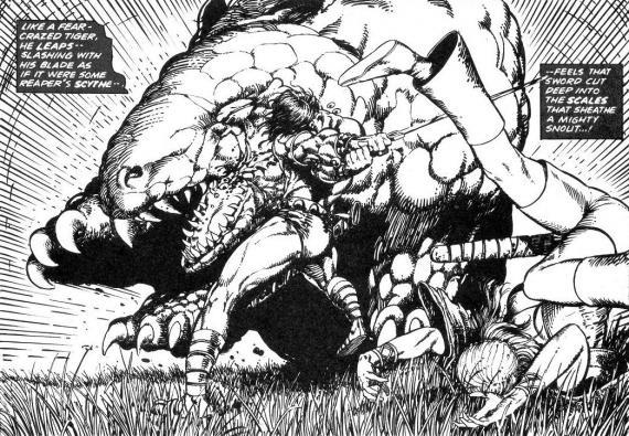 la espada salvaje de Conan Clavos Rojos