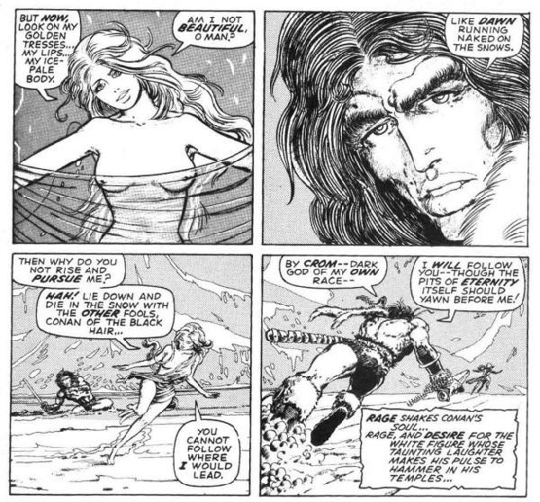 la espada salvaje de Conan la hija del gigante de hielo page