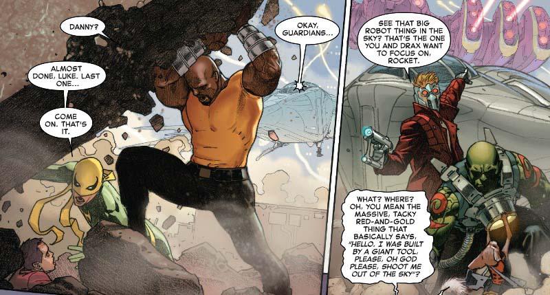 Todos los héroes Marvel tienen un momento para aparecer en Secret Wars