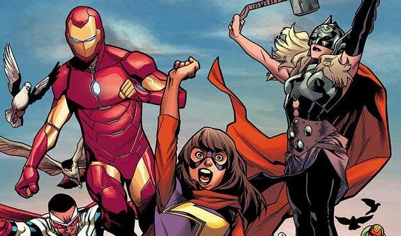 Los nuevos y diferentes Vengadores representan una audiencia más global