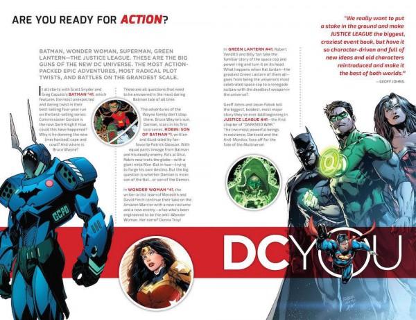 Los meros cambios estéticos de DC You no ha conseguido ampliar la audiencia