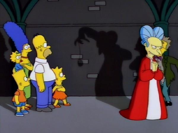 Burns Drácula y su sombra