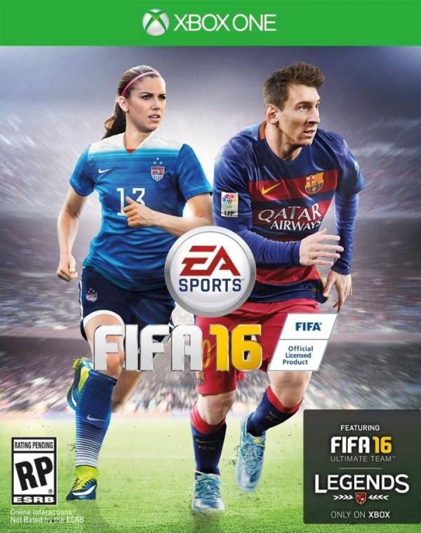 La histórica portada de FIFA 16 en Estados Unidos
