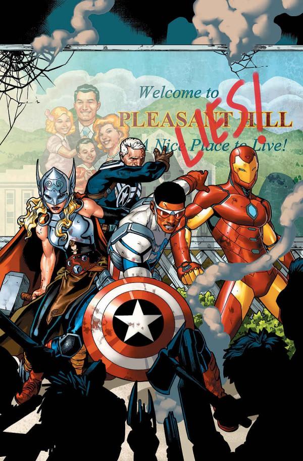 Jesus Saiz Avengers standoff