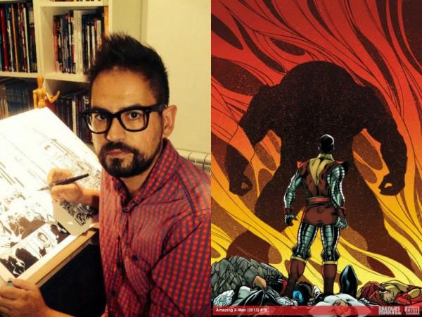 Jorge Fornés, dibujante de Amazing X-Men