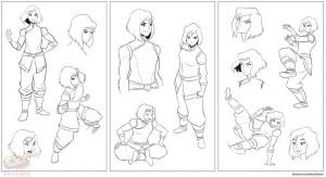 Korra-Sketch