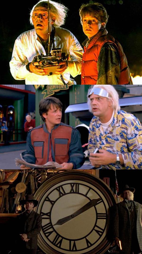 Marty y Doc, amigos en el tiempo