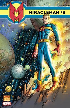 Portada del octavo número de Miracleman, que nos hace soñar con una etapa dibujada por John Romita Jr.