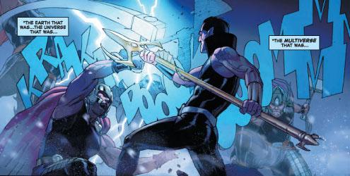 La historia continúa donde la dejamos, con el Cónclave haciendo frente a un batallón de Thors