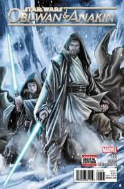 Obi-Wan y Anakin Star Wars Marvel portada