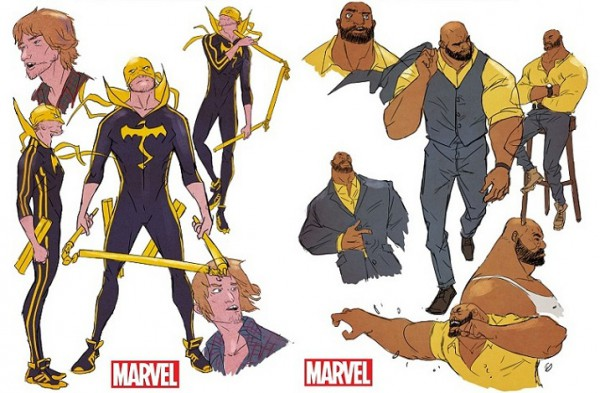 Power Man and Iron Fist All New All Different Marvel diseños