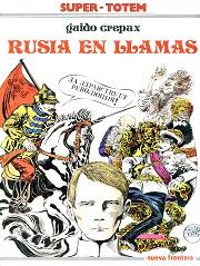 Rusia-en-llamas_Crepax_Nueva-Frontera_portada
