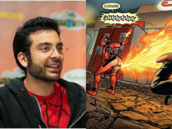 Salva Espín y su hilarante Deadpool
