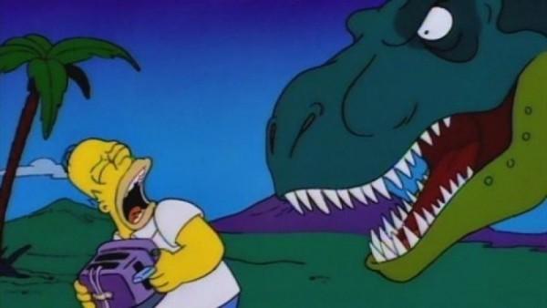 Homer en apuros temporales