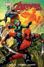 Uncanny Avengers (2015) Cover