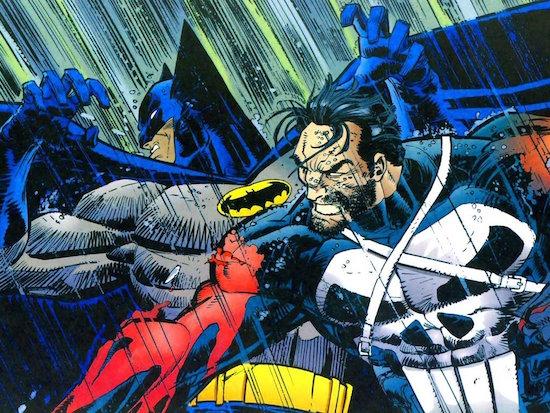 Batman contra el Castigador
