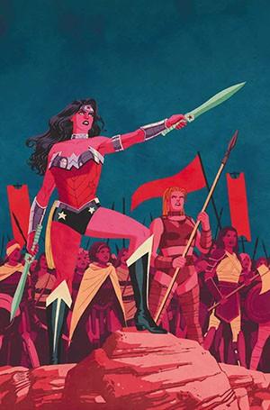 La alabada Wonder Woman de Azarello