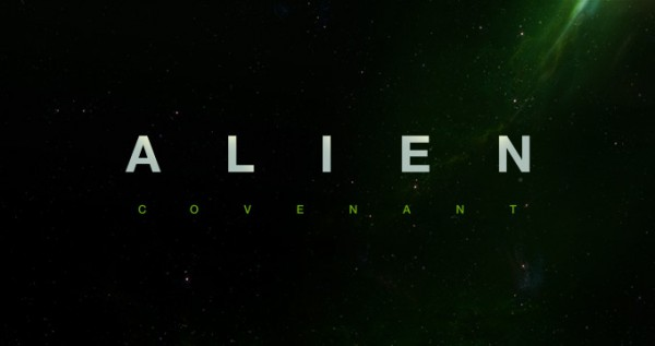 Logo oficial de Alien: Covenant