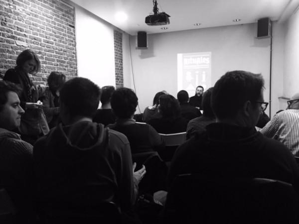 Presentacion de Rituales en Café Molar