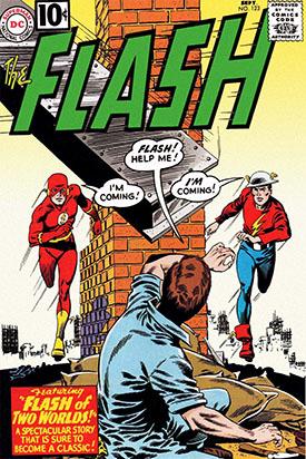 El inicio del Multiverso de la mano de Flash.