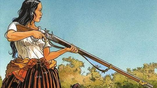 Isabel protagonista de Los pasajeros del viento