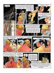 Páginas interiores de Los Pasajeros del Viento por François Bourgeon