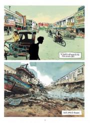 Páginas de Tsunami por Jean-Denis Pendanx