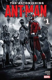 The Astonishing Ant-Man Cover
